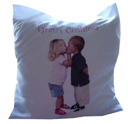 PERSONALISED CUSHION COVER add photograph for unique gift idea